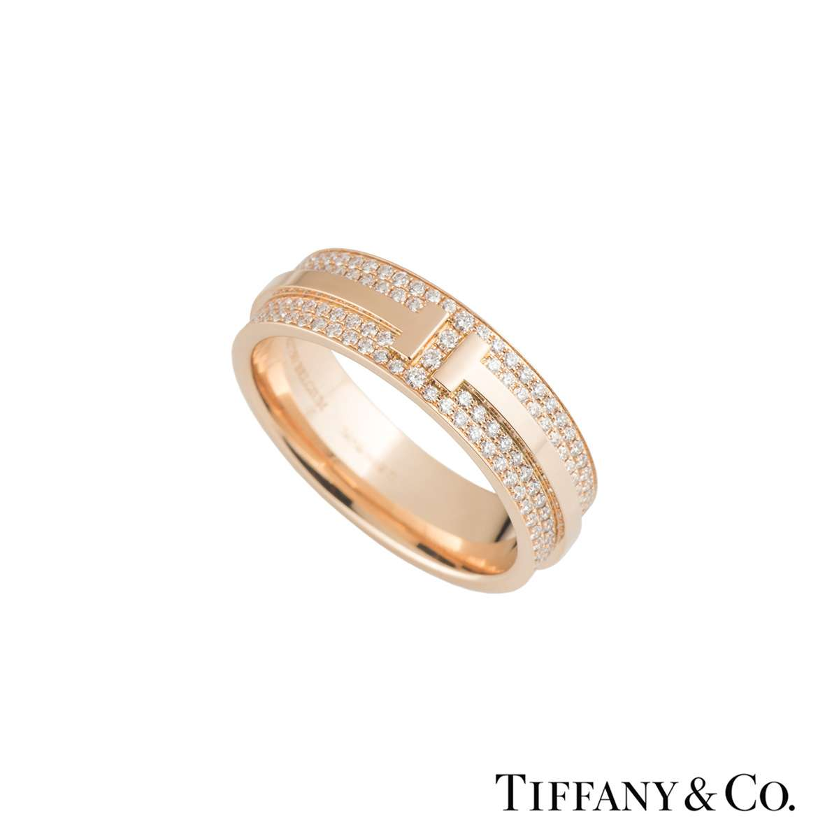 Tiffany & Co T Two Diamond Ring